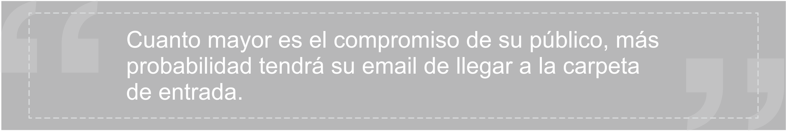 Inbox placement y Compromiso